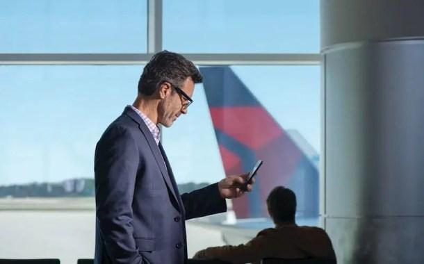 Nova plataforma da Delta oferece informações operacionais para clientes