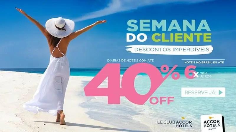 Accor lança Semana do Cliente com descontos imperdíveis em seus hotéis na América do Sul