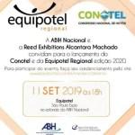 Equipotel 2019: ABIH Nacional lança 52ª Conotel e 3ª Equipotel Regional
