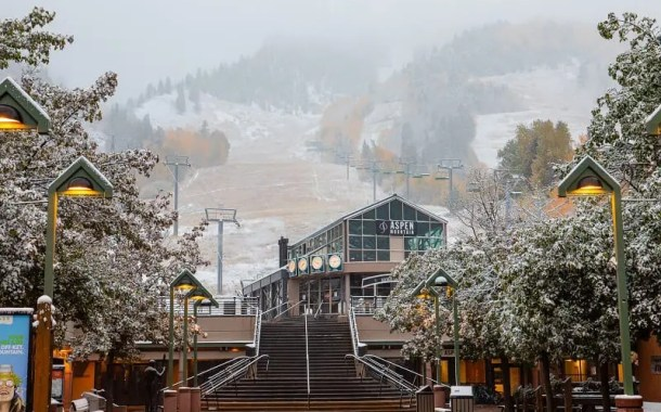 Aspen Snowmass se prepara para temporada de inverno após primeira nevada