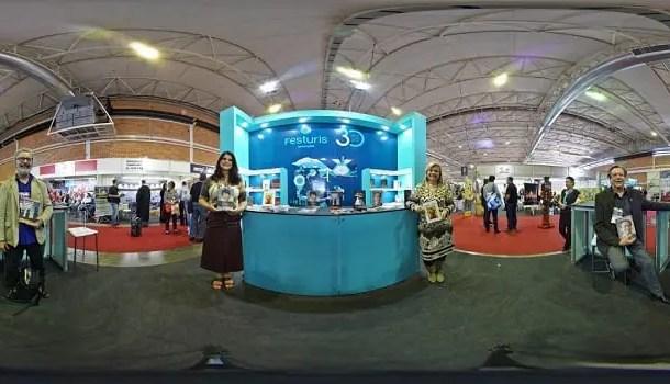 DIÁRIO e VIP 360º apresentam imersão virtual na 31ª Festuris