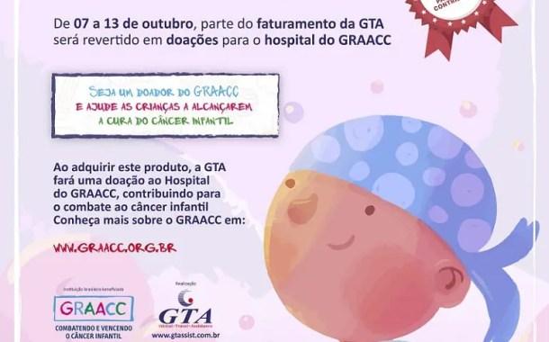 GTA doará parte do faturamento ao GRAACC