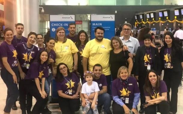 American Airlines e Make-a-Wish Internacional se unem e realizam sonhos de crianças