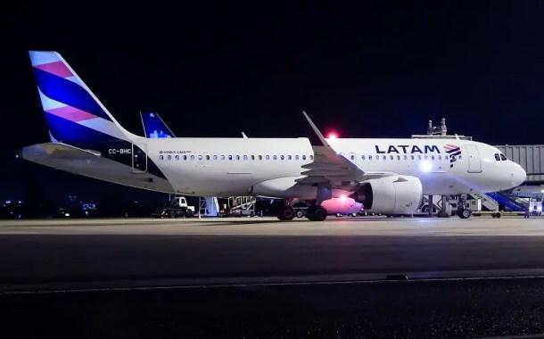 LATAM inaugura novo voo direto na rota Brasília-Santiago