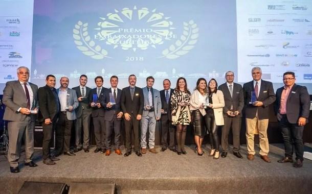 Curitiba e Região Convention & Visitors Bureau promove o Prêmio Embaixadores de Curitiba 2019