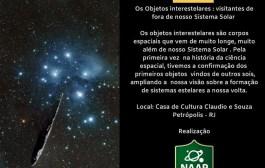 Casa de Cláudio de Souza se torna local para palestras sobre astronomia
