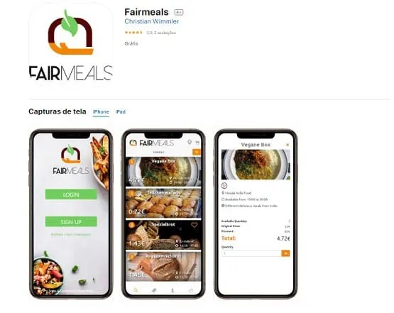 Aplicativo propõe guerra contra desperdício de alimentos