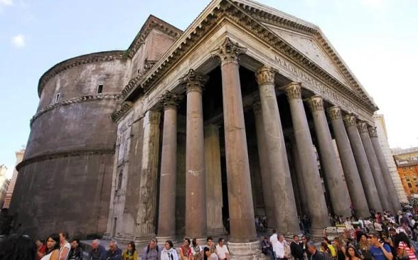 Foto da Edição: Pantheon, uma relíquia da arquitetura do mundo antigo
