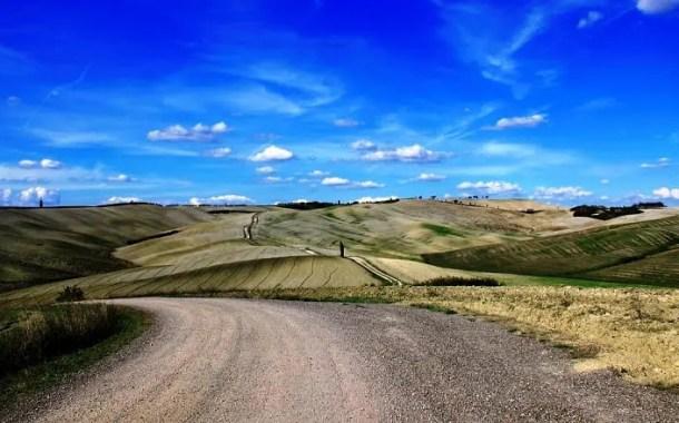 Montalcino na Toscana - Foto da Edição por Eduardo Andreassi