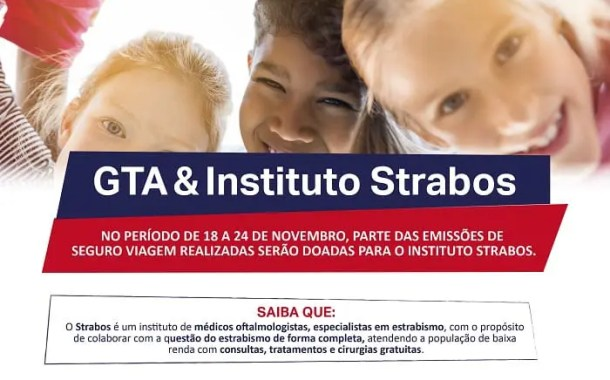GTA doará parte de seu faturamento ao Instituto Strabos