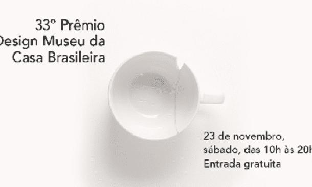 Exposição do 33º Prêmio Design Museu da Casa Brasileira abre em novembro