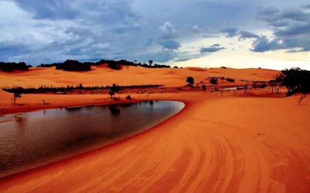 As dunas alaranjadas do Jalapão - por Eduardo Andreassi