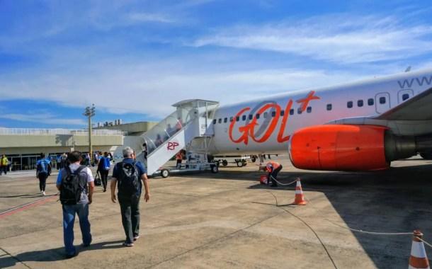 Gol inicia voo direto entre Foz do Iguaçu e Salvador