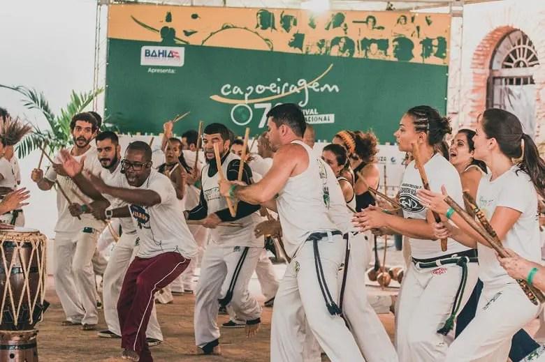 Salvador irá sediar Festival Internacional de Capoeiragem