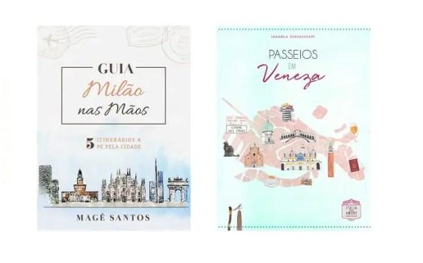 Veneza e Milão sobre um olhar diferente em dois novos guias de viagem