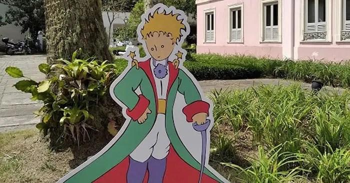 Começa exposição 'Pequeno Príncipe visita o Palácio Itaborai' em Petrópolis
