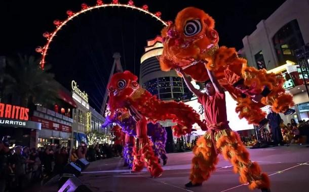 Las Vegas comemora o ano novo chinês com diversas atrações