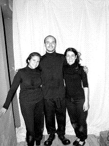 "Integrantes del grupo ""Luthiers de la Risa""."