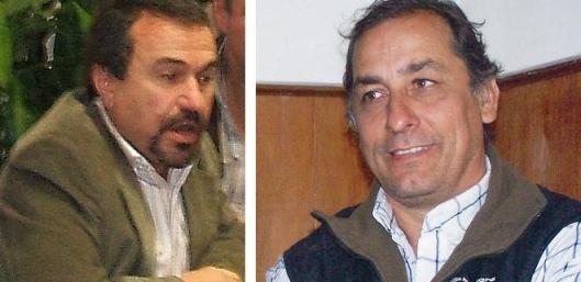 Alberto Gallo Llorente y Aldo Esteban.