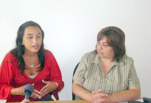Paula Marti e Isabel Salamone.