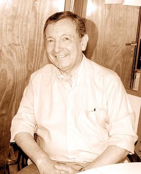 Dr. Roberto Rossi en su última visita a la redacción de EL 9 DE JULIO.
