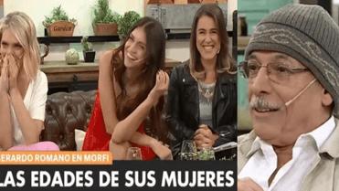 Gerardo Romano habla sobre el sexo después de los 50 años