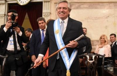 Alberto Fernandez diario el federal