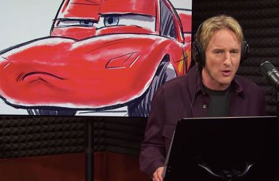 Owen Wilson arruina Cars 4 y Rayo McQueen RELOJ