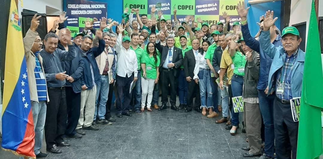 """Copei: """"El pueblo no está dispuesto a esperar a que se pongan de acuerdo en el conflicto político"""""""