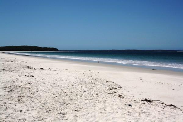 Playa Callala en Jervys Bay.