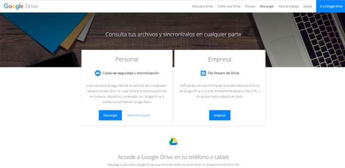 Google Drive se mantendrá para empresas