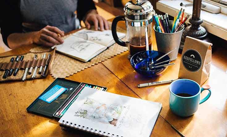 Al ser un freelancer eres tú quien organiza tu horario