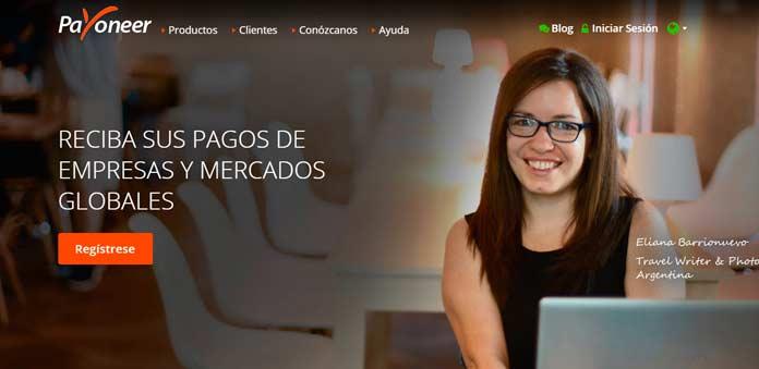 sitio web de payoneer