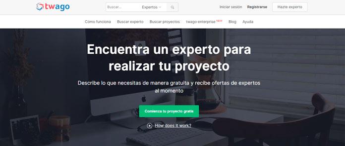 twago es una delas más importantes plataformas de contratación freelance