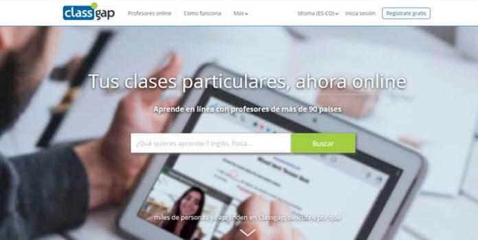 Enseñar ingles online a través de ClassGap