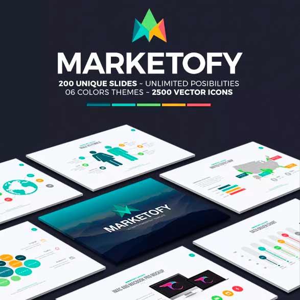 Marketogy 1.0 plantilla de power point