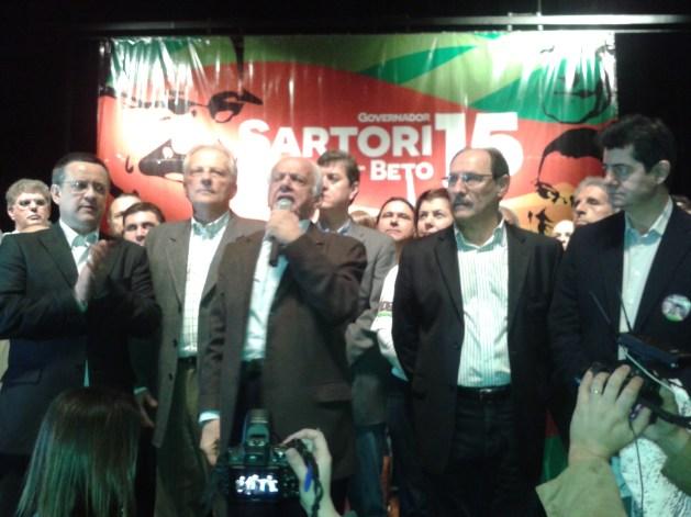 PMDB lança candidatura de José Ivo Sartori ao governo do Estado Joana Colussi/Agência RBS