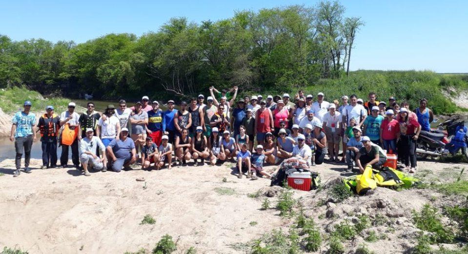 Bajada Crisol - Arrecifes - participantes