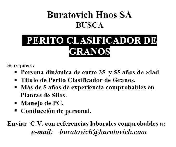 Buratovich Busqueda de Personal