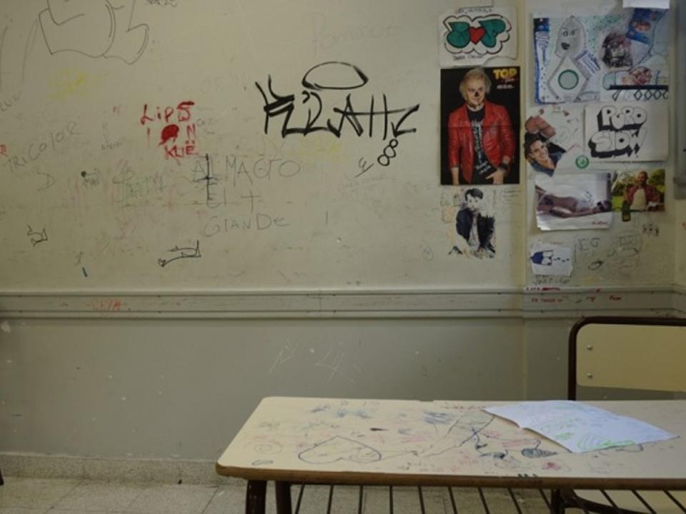 Vandalismo-Escuelas