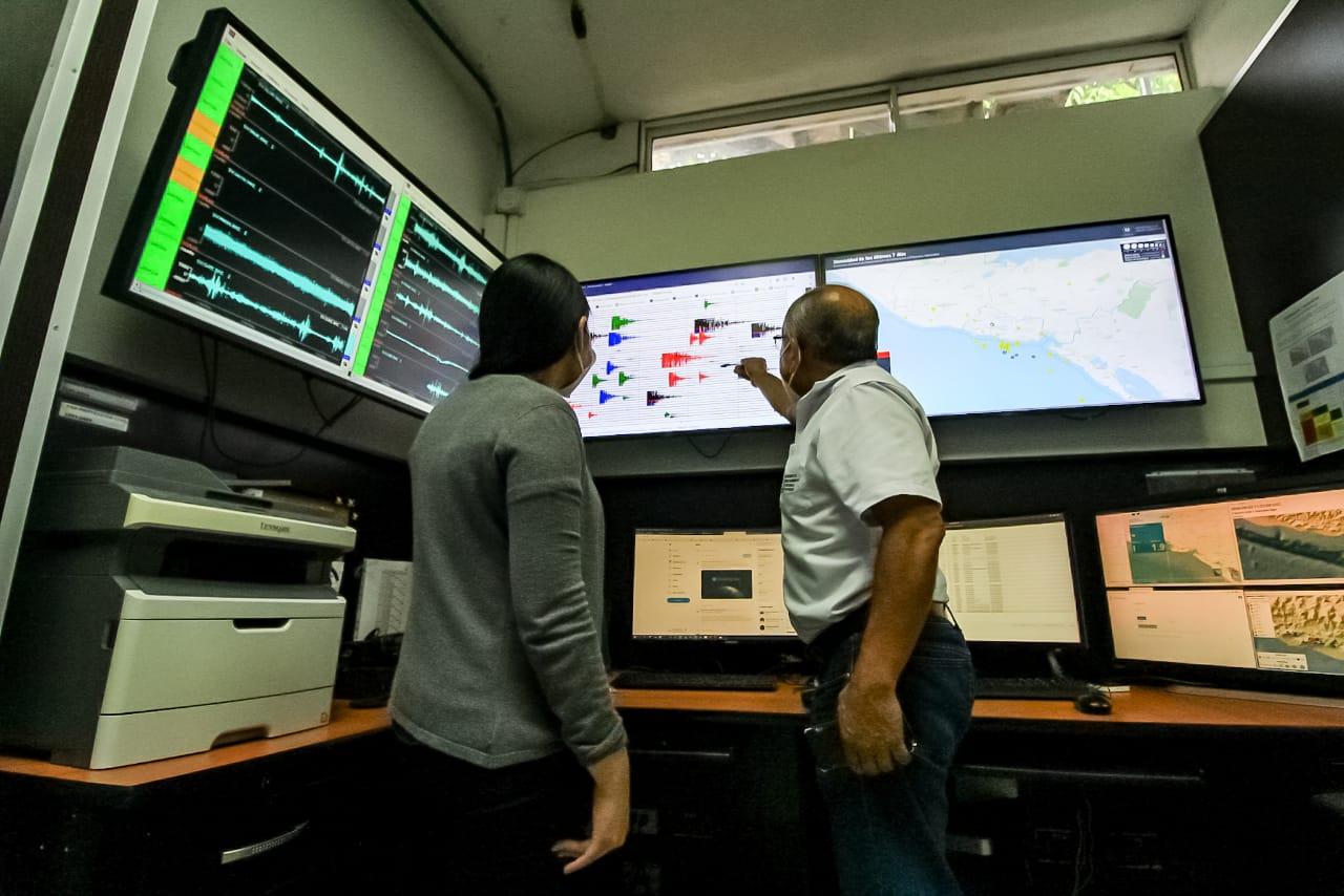 Autoridades reportan 86 sismos en la zona norte de Santa Tecla