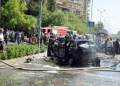El ataque ocurrió en Mezzeh, un barrio en el suroeste de la capital Damasco