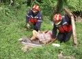 Efectivos de Bomberos Miranda encontraron el cuerpo de Robinson Charles Arcia Suárez de 17 años