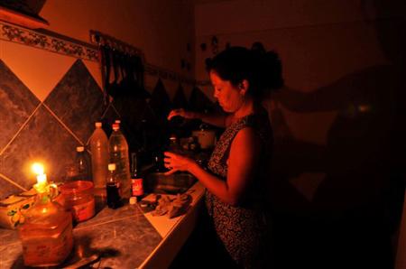 zonas sin luz en Los Teques