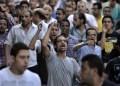El nombramiento de Mohamed ElBaradei, estuvo acompañado de manifestaciones de partidarios del presidente depuesto