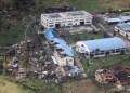 La tormenta ha destruido aldeas enteras, casas, edificios y barcos