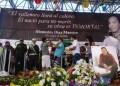 Los hijos de Diomedes Díaz y otros amigos le rindieron un homenaje musical antes del sepeleio