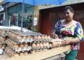 Cartón de huevos está siendo ofrecido en Bs. 2.000. ARCHIVO
