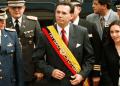 Mahuad, que gobernó Ecuador de 1997 a 2000, fue acusado de malversar fondos públicos
