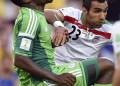 Nigerianos e iraníes no se hicieron daño AP / Martin Meissner
